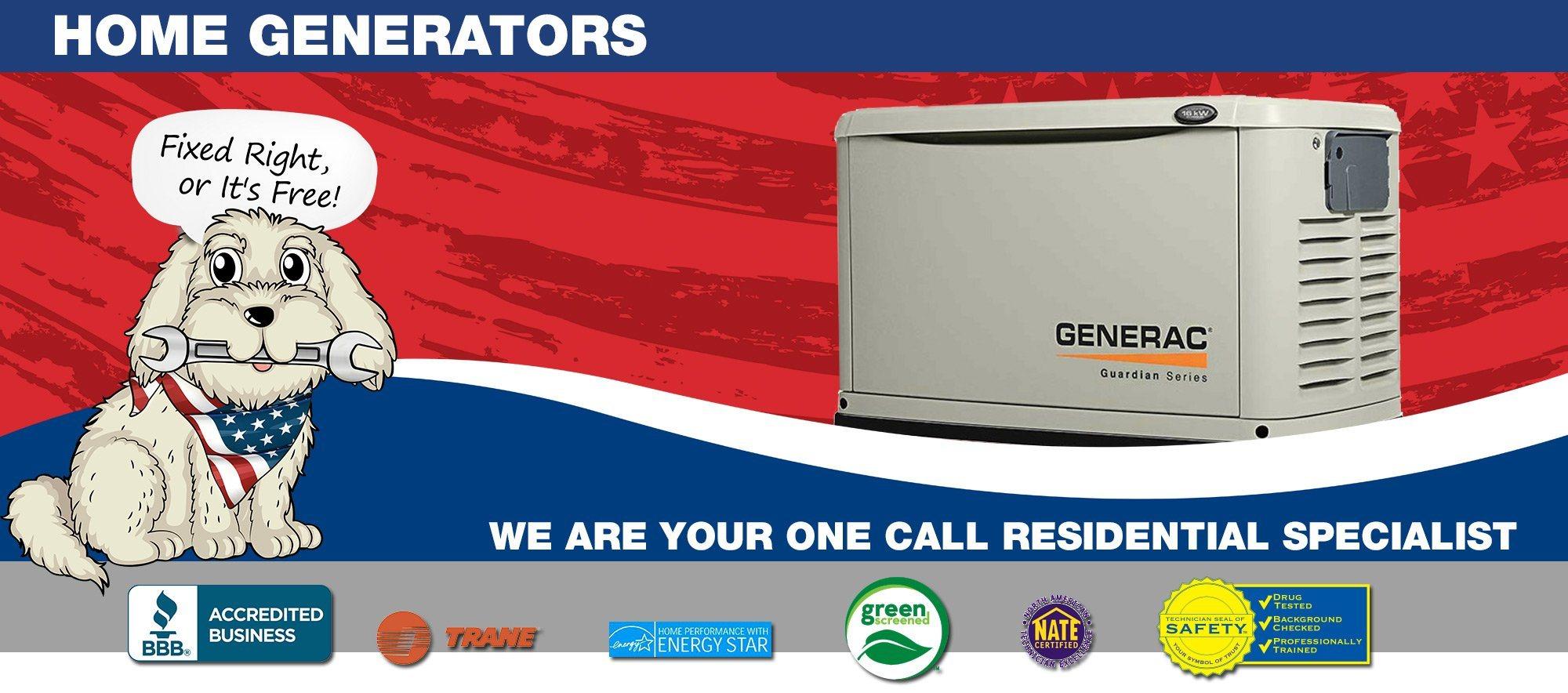 South Plainfield Home Generators