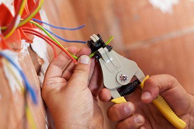 Mine Brook, electrical, repair